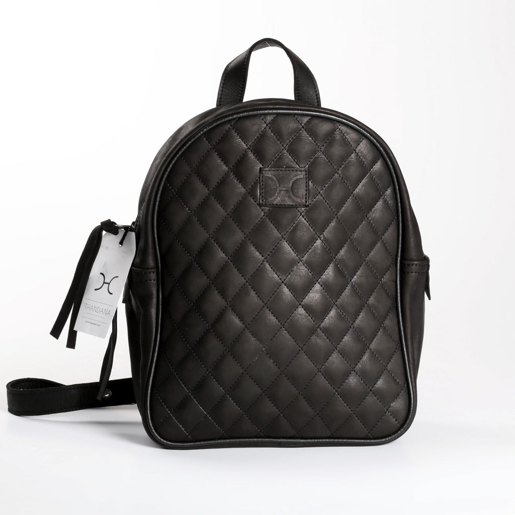 Thandana Jen Backpack - Black - Zufrique Boutique