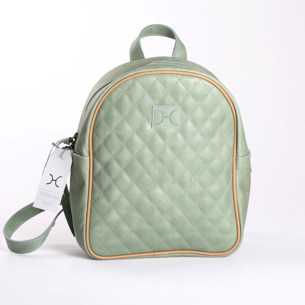 Thandana Jen Backpack - Green - Zufrique Boutique