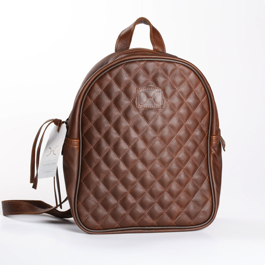 Thandana Jen Backpack - Brown - Zufrique Boutique