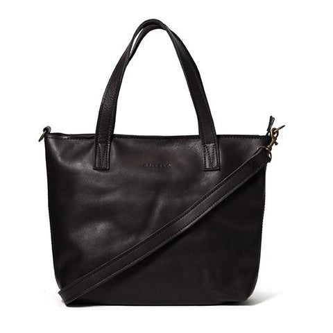 Antelo Katie Leather Handbag - Black - Zufrique Boutique