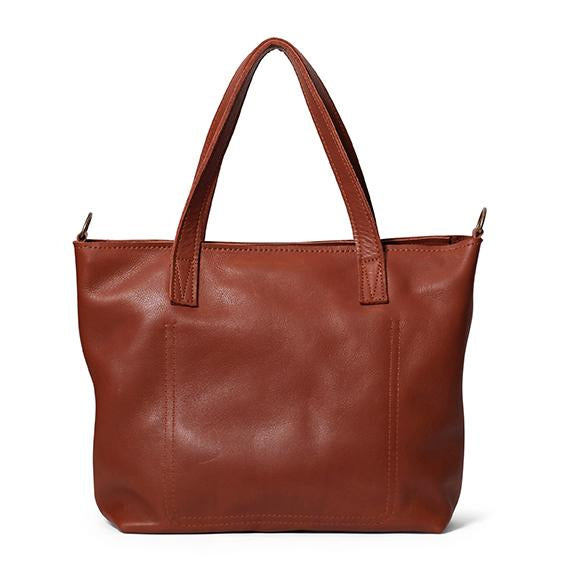Antelo Katie Leather Handbag - Tan - Zufrique Boutique