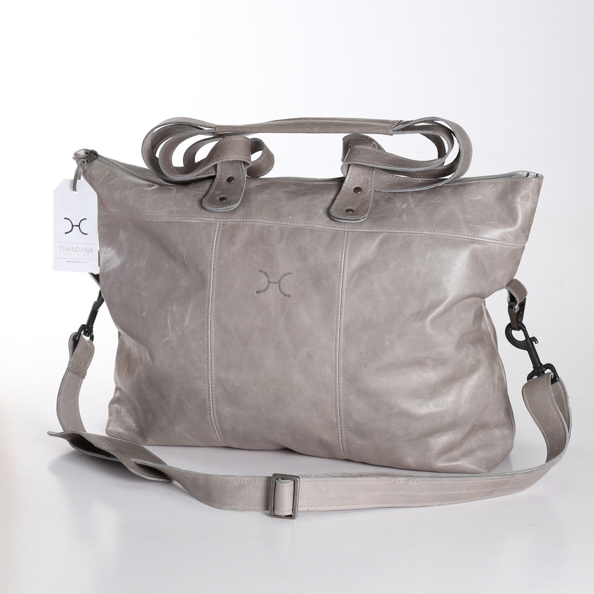 Thandana Ladies Cabin Bag - Grey - Zufrique Boutique
