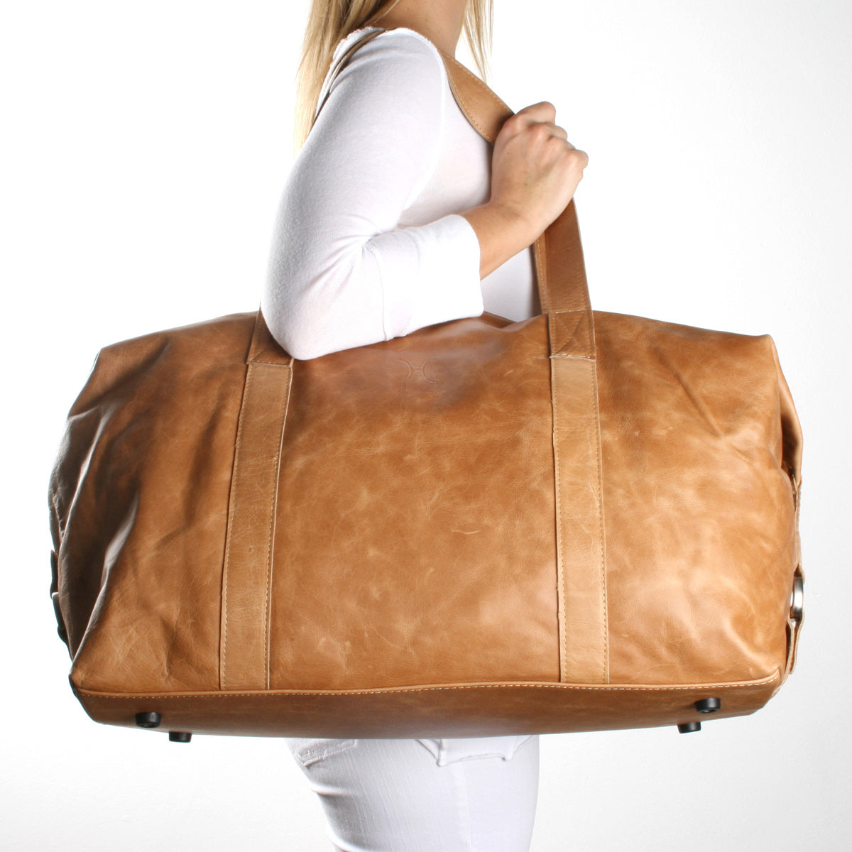 Thandana Duffel Bag - Brown - Zufrique Boutique