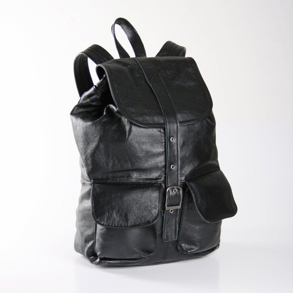 Thandana Masson Backpack - Black - Zufrique Boutique