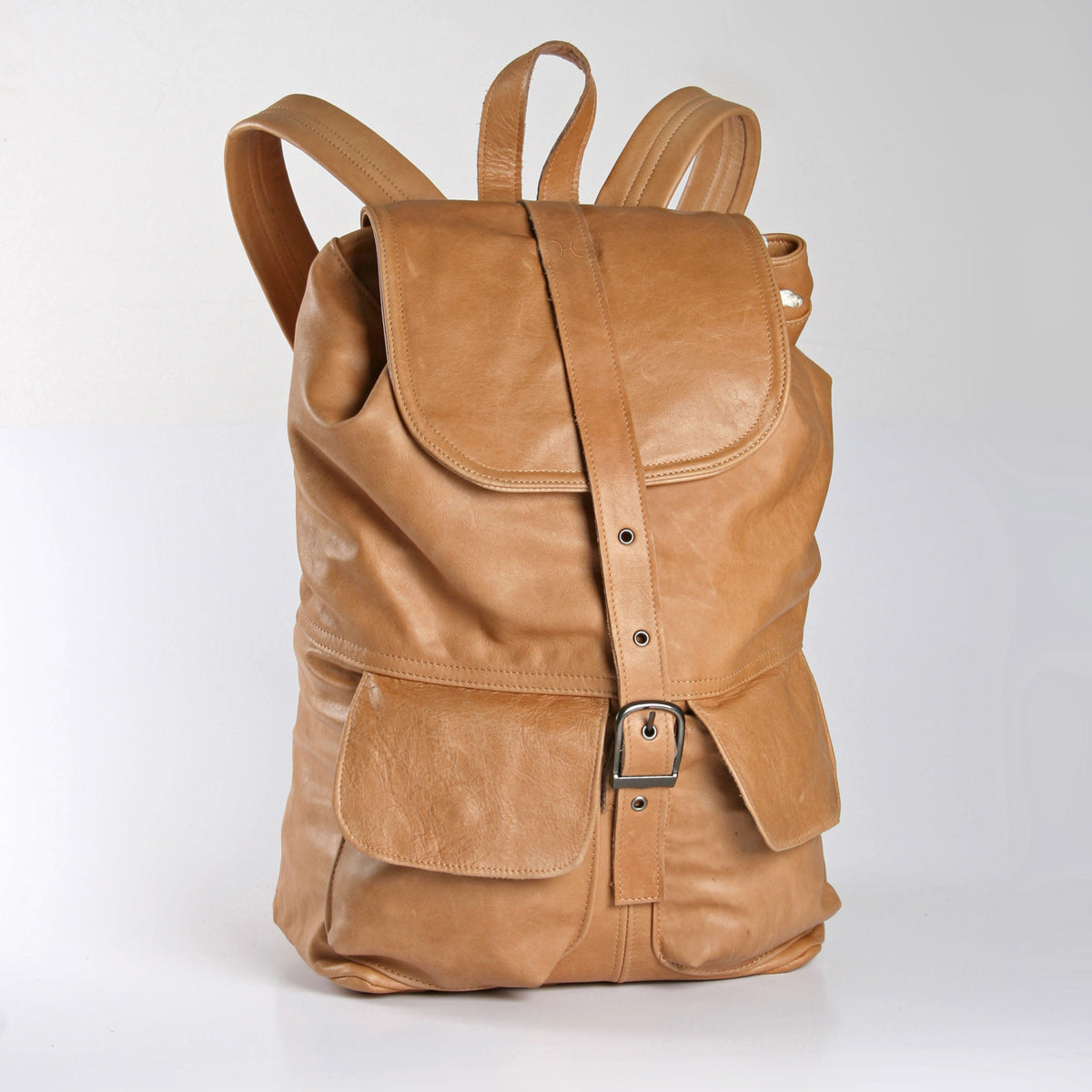 Thandana Masson Backpack - Hazelnut - Zufrique Boutique