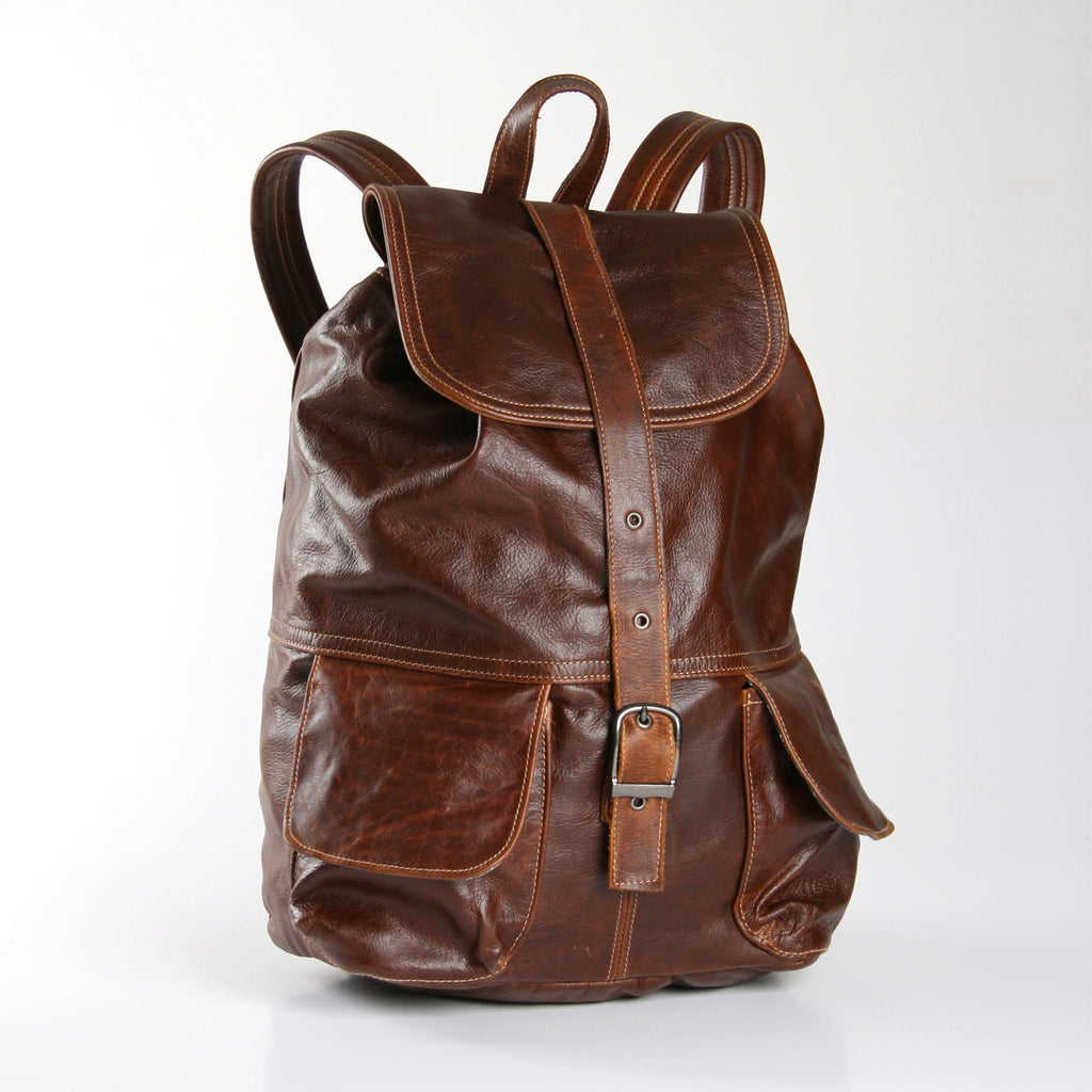 Thandana Masson Backpack - Brown - Zufrique Boutique
