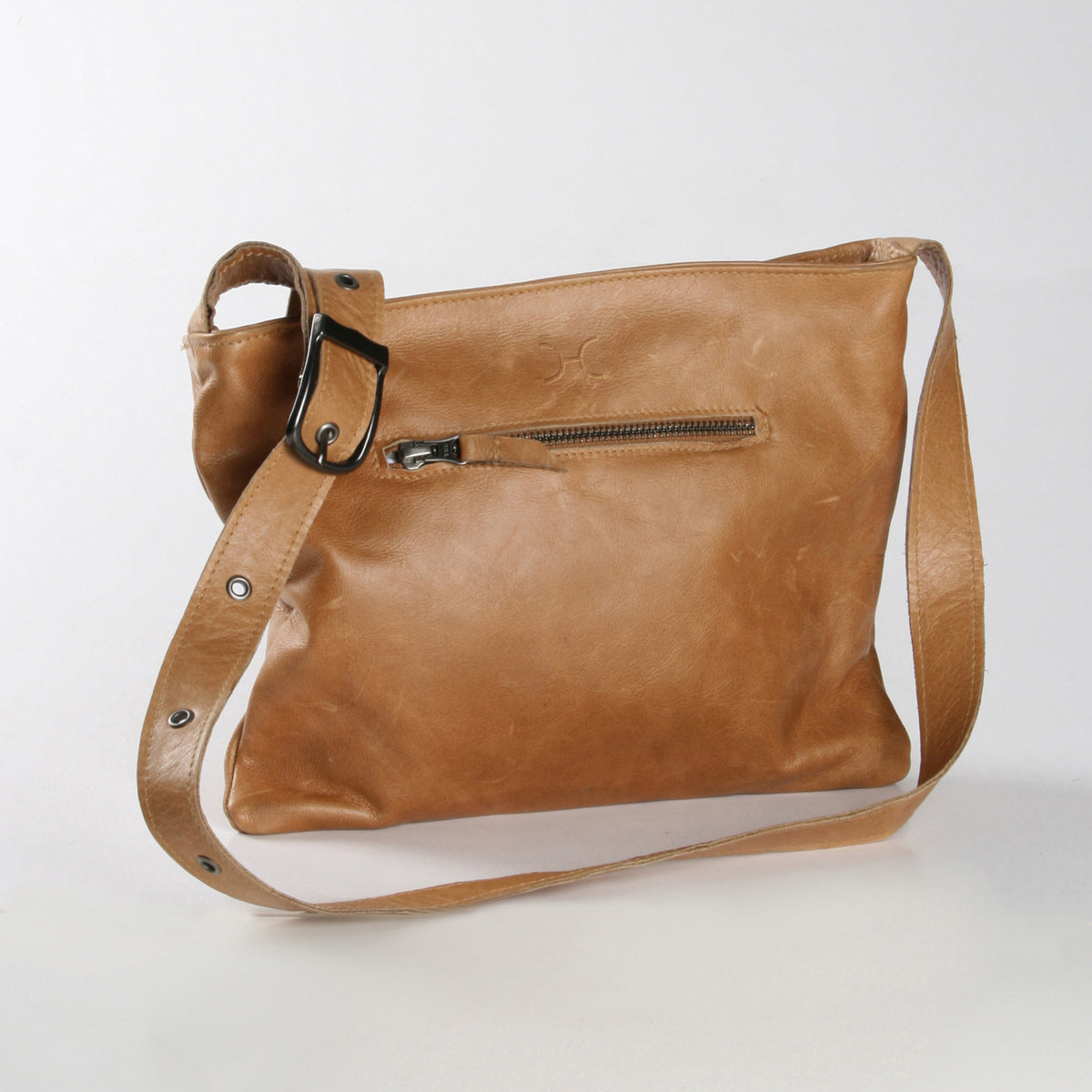 Thandana Mini Messenger Sling Bag - Hazelnut - Zufrique Boutique