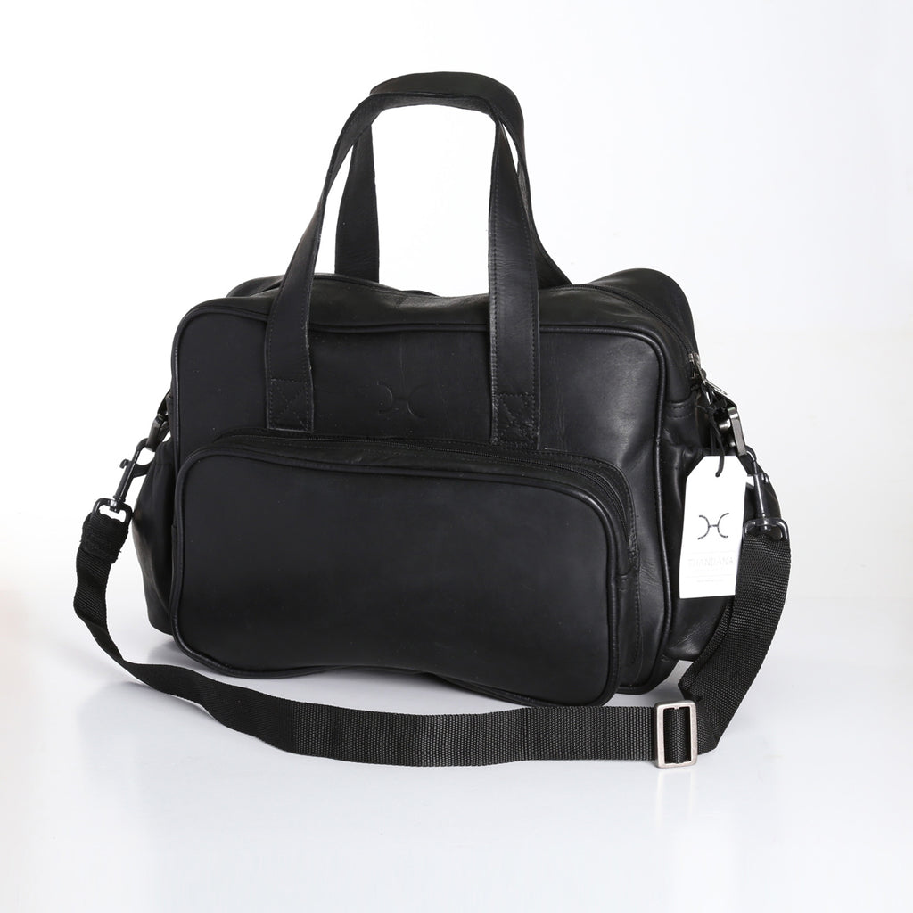 Thandana Nappy Bag - Black - Zufrique Boutique