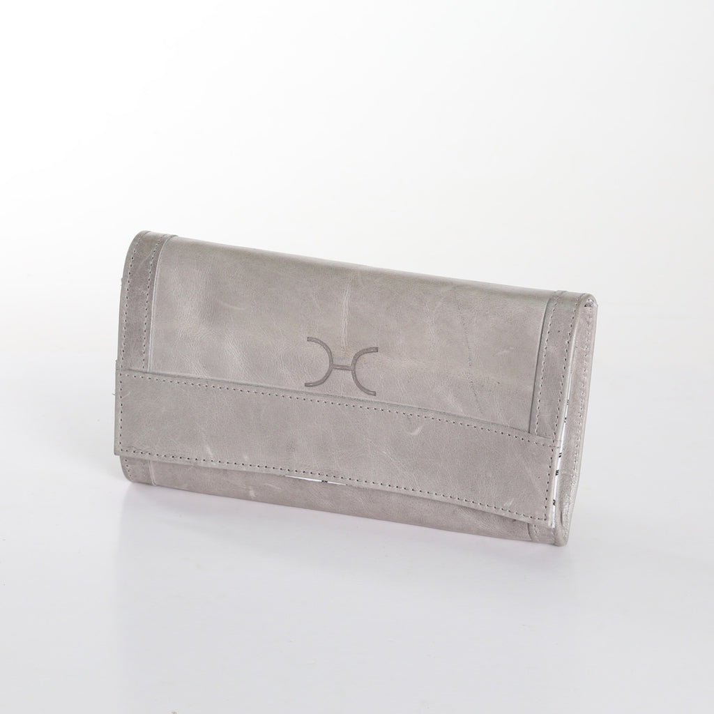 Thandana Travel Wallet - Grey - Zufrique Boutique