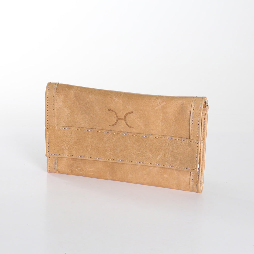 Thandana Travel Wallet - Hazelnut - Zufrique Boutique