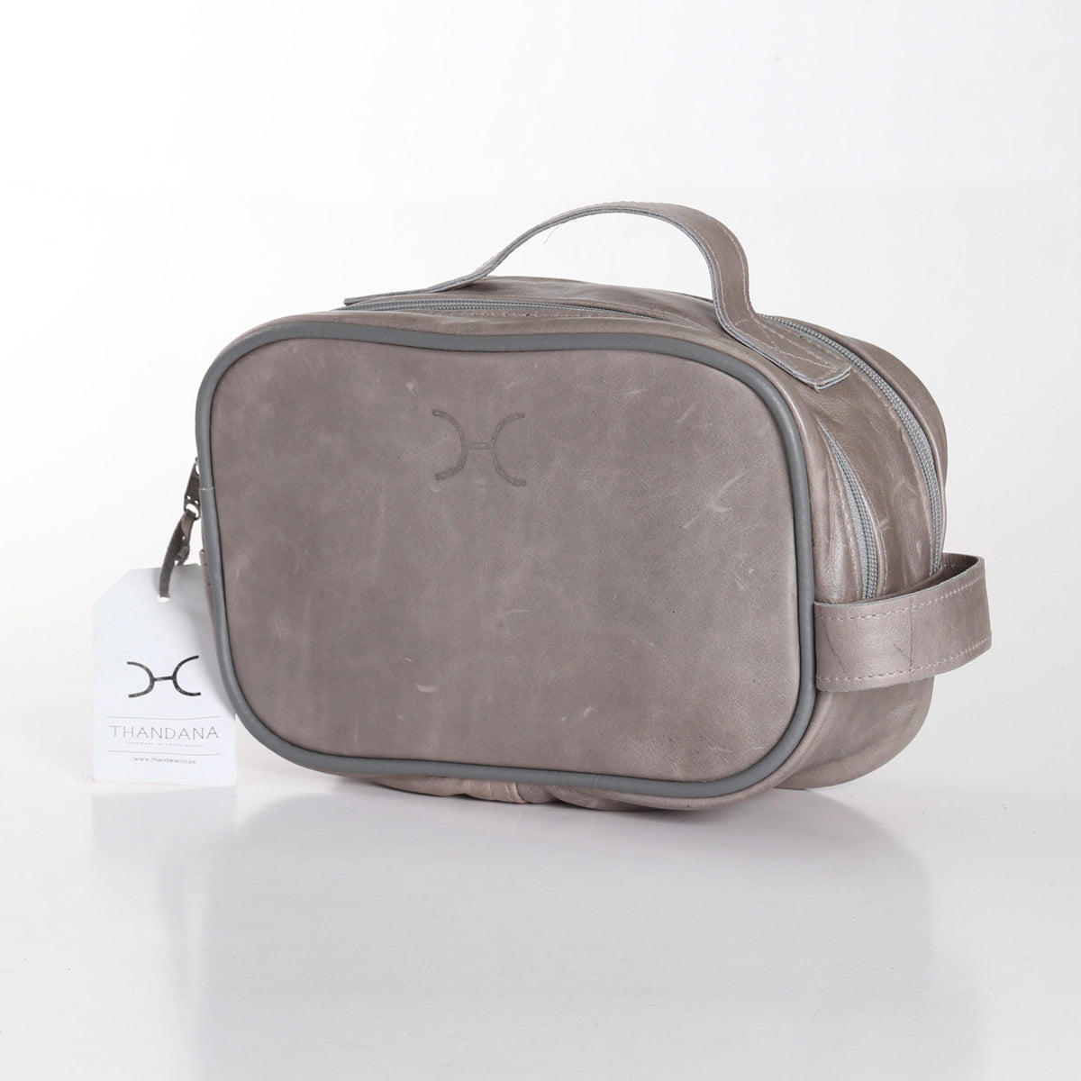 Thandana Vanity Bag - Grey - Zufrique Boutique