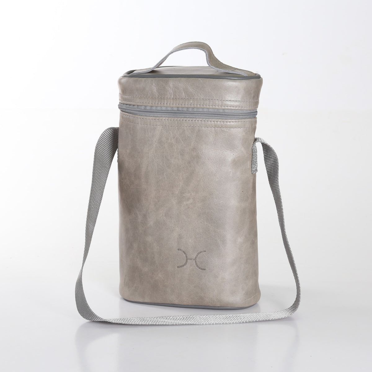 Thandana Wine Cooler Bag - Grey - Zufrique Boutique