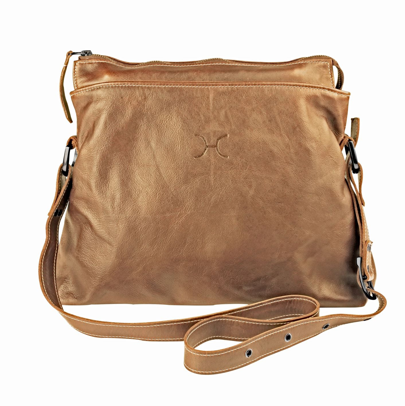Thandana Messenger Boho Sling Bag - Hazelnut - Zufrique Boutique