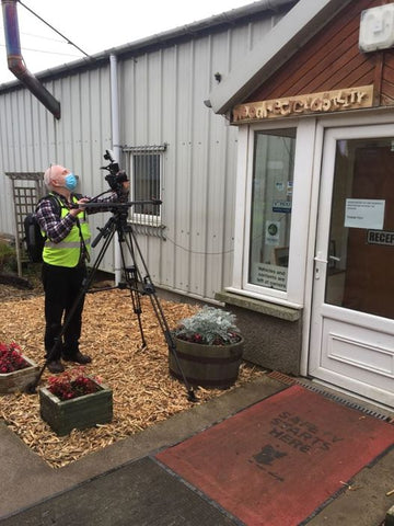 Northern Star Business Awards Filming at Wood RecyclAbility