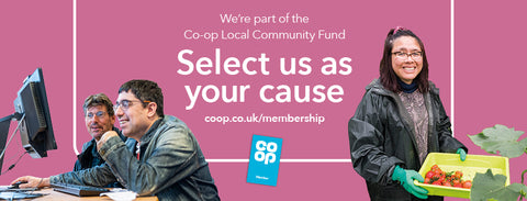 Wood RecyclAbility Chosen to benefit from the Co-op's Local Community Fund