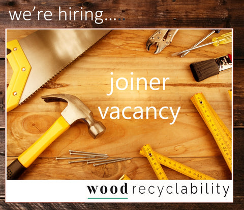 We're Hiring a Joiner!