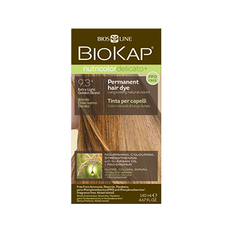 Biokap Nutricolor Delicato+ Extra Light Golden Blond – Planet Health ... 9733fbe4c86
