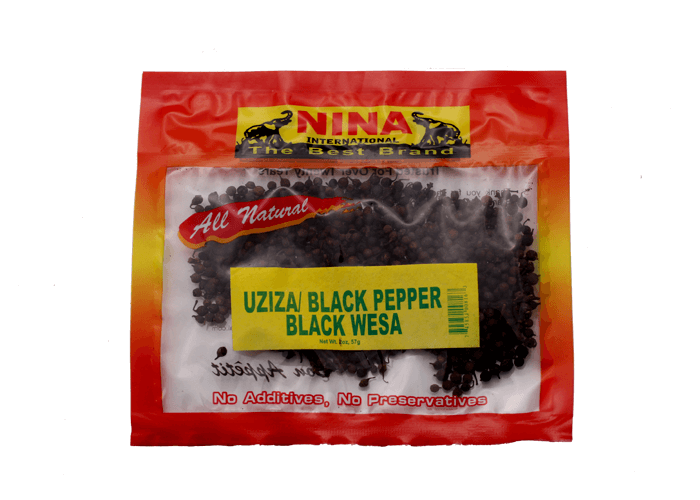Uziza/Black Pepper