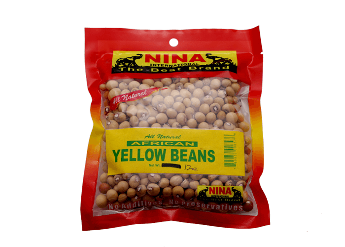 African Yellow Beans (Soy Beans)