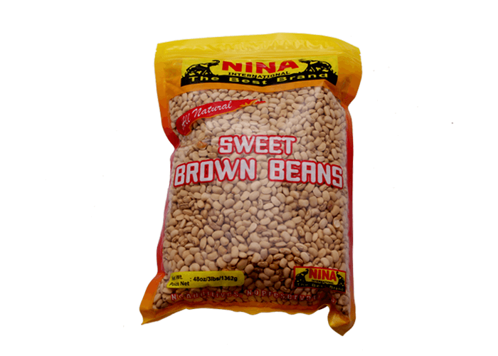 Sweet Brown Beans, 5 Lbs