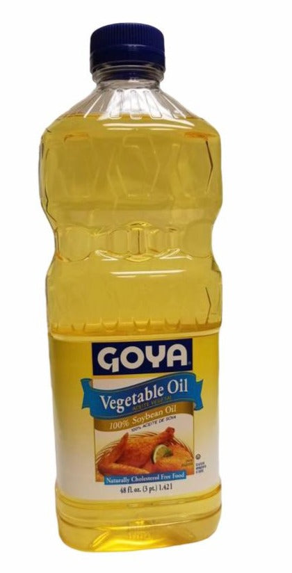 Goya Vegetable oil, 48oz