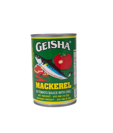Geisha Canned Mackerel With Chili