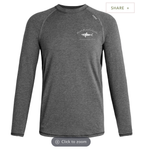 Men's Gunmetal Gray Long Sleeve Charger II - TASC
