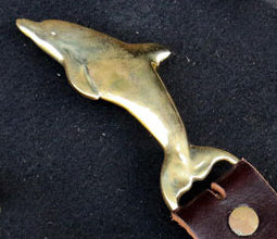 Belt Buckle - DOLPHIN - Petes Pub Foundry Design