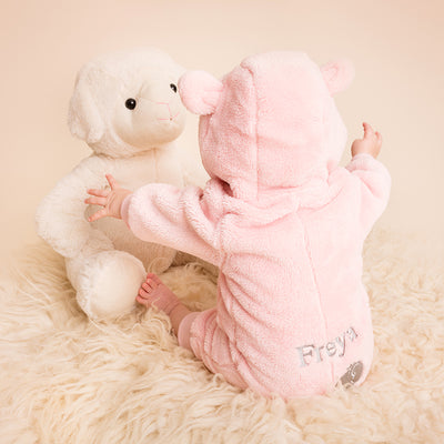 Personalised Fleece Romper