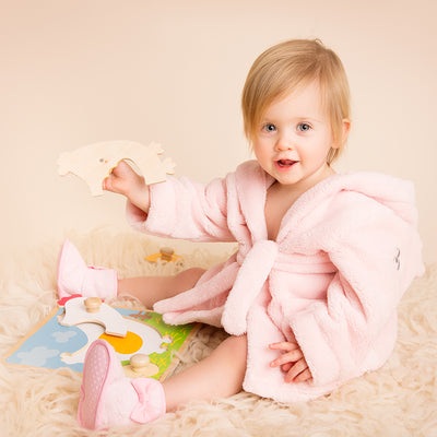 Personalised Fleece Gown