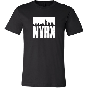 NYRK stamp Black Concert Style T-shirt