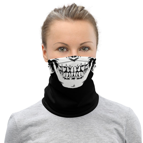 Skull Face Neck Gaiter/Face Mask