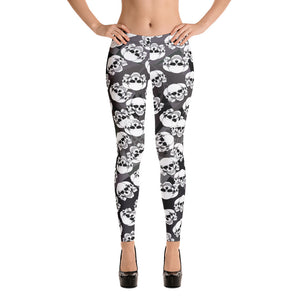 Skulls Everywhere Leggings