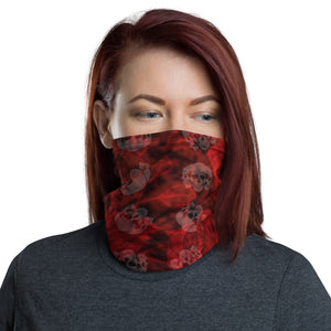 Skulls and Roses Neck Gaiter/Face Mask