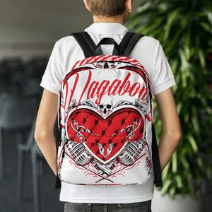 Backpack Heart Shaped Box