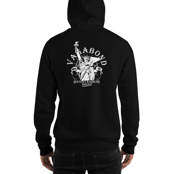 Hooded Sweatshirt Lady Liberty Logo