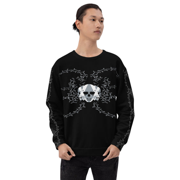 Unisex Sweatshirt Barbed Wire Vagabond