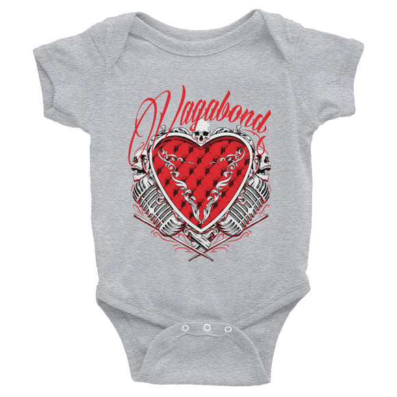 Infant Bodysuit Heart Shaped Baby