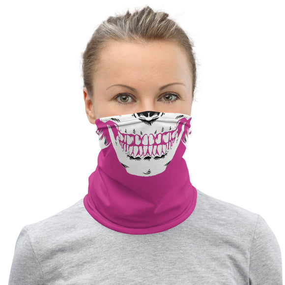 Lady Vagabond Skull Face Neck Gaiter/Face Mask