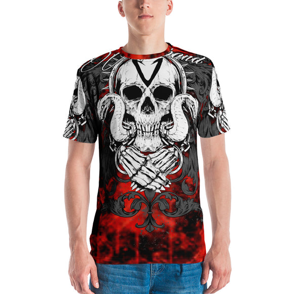 Skulls and Snakes RED All-Over