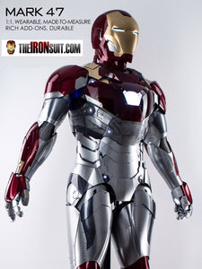 Wearable Iron Man Suit Mark XLVII - IronMan Suit - The IronSuit
