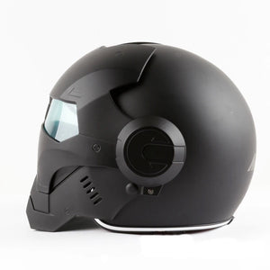 "New Black IRONMAN Motorbike Helmet ""The IronSuit"" - - The IronSuit"