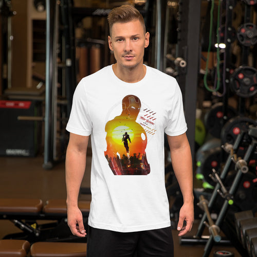 Tony Stark Iron Man Short-Sleeve Unisex T-Shirt - - The IronSuit