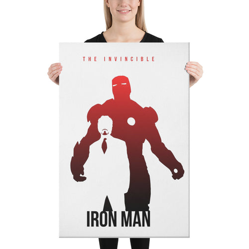 The Invincible Iron Man Artwork Canvas (Wall Art) - - The IronSuit