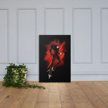 Iron Man Flying Dark & Red Wall Art In Canvas - - The IronSuit