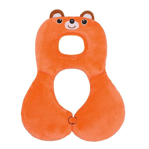 Baby Animal U-Pillow Headrest & Neck Protection