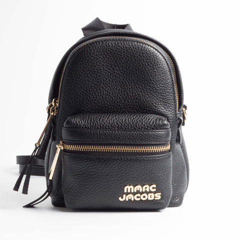 Marc Jacobs - Trek Pack Leather Mini Backpack - Black