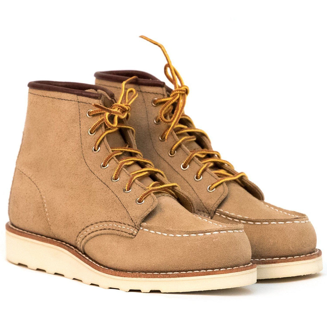 RED WING - 3376 Moc Toe Sand Mohave - brown Women's Shoes Red Wing Shoes