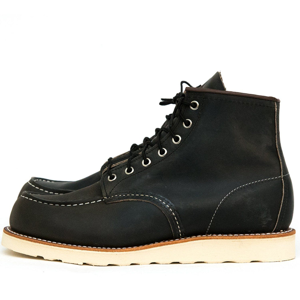 RED WING - Classic Moc Toe 8890 - Carbone Scarpe Uomo Red Wing Shoes