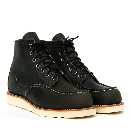 RED WING - Classic Moc Toe 8890 - Charcoal Men's Shoes Red Wing Shoes